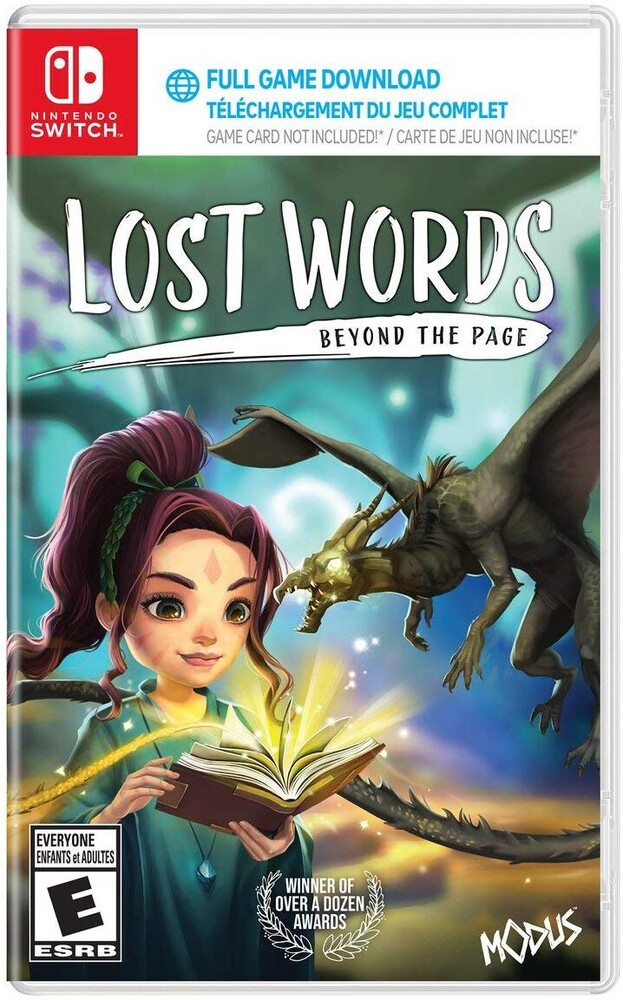 Swi Lost Words: Beyond the Page - Lost Words: Beyond the Page for Nintendo Switch (code in box)