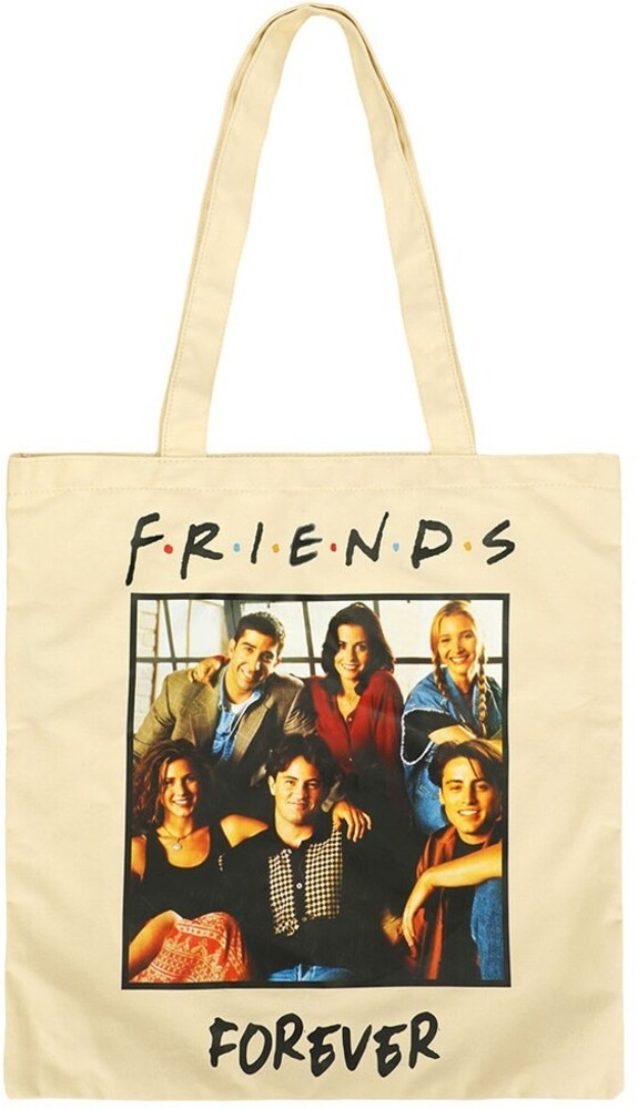 - Friends Forever Canvas Tote Bag