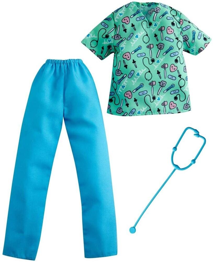 - Mattel - Barbie Ken Nurse Career Fashion