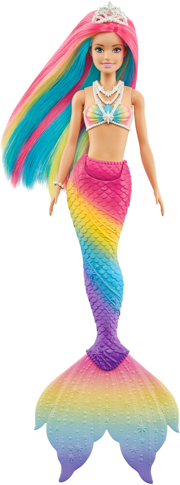 - Mattel - Barbie Dreamtopia Rainbow Mermaid, Color Change