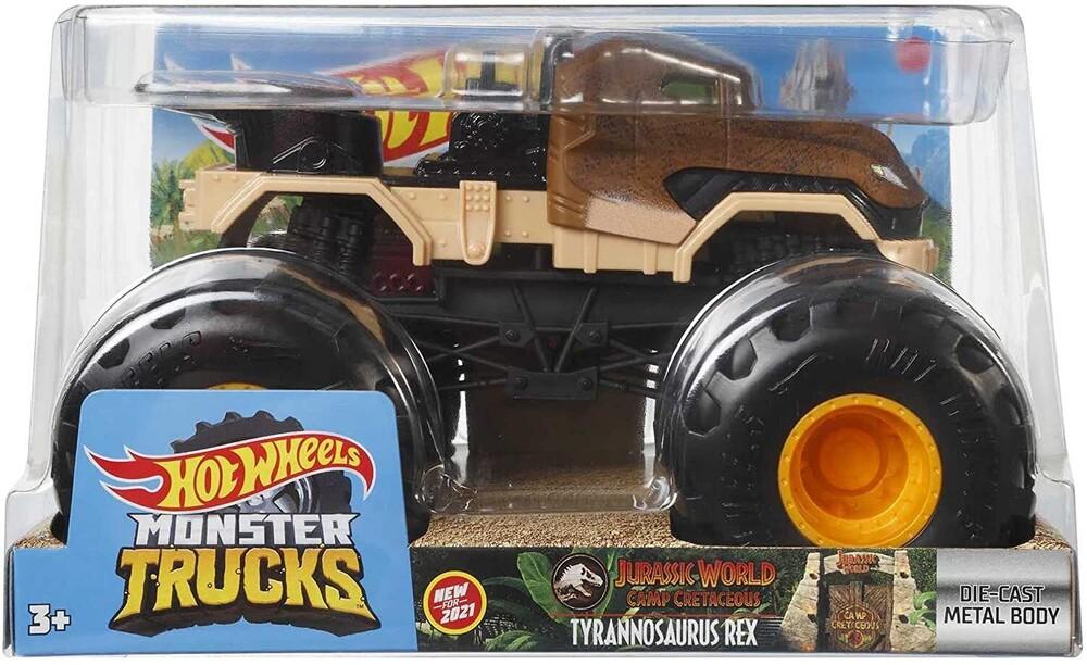 - Mattel - Hot Wheels Monster Truck 1:24 Jurassic World T-Rex