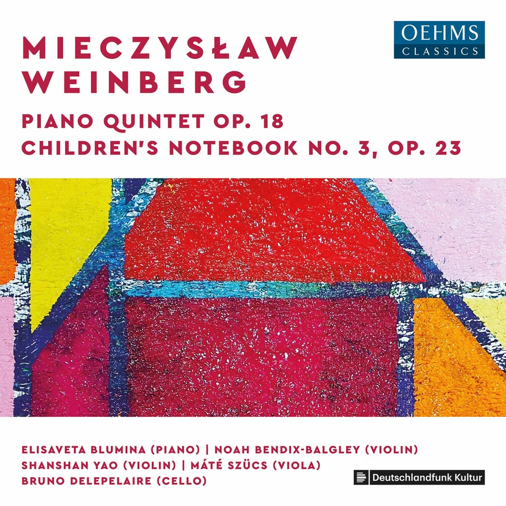 Weinberg / Blumina / Delepelaire - Piano Quintet 18