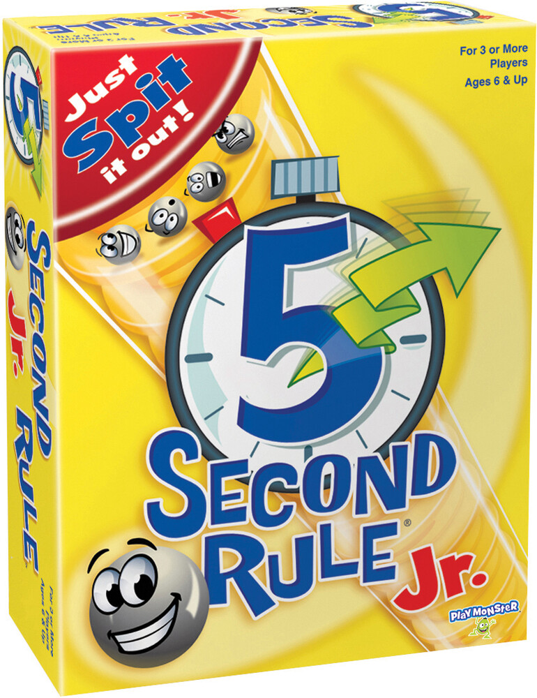 - 5 Second Rule Junior Just Spit It Out (Crdg)