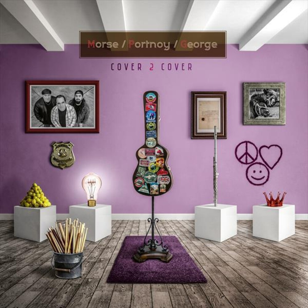 Morse / Portnoy / George - Cover To Cover (W/Cd) [Clear Vinyl] (Gate) [Remastered] (Ger)