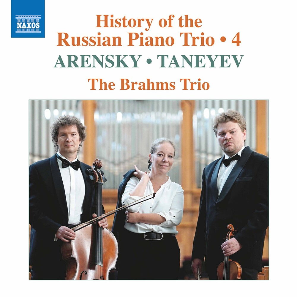Arensky / Brahms Trio - History Of The Russian 4