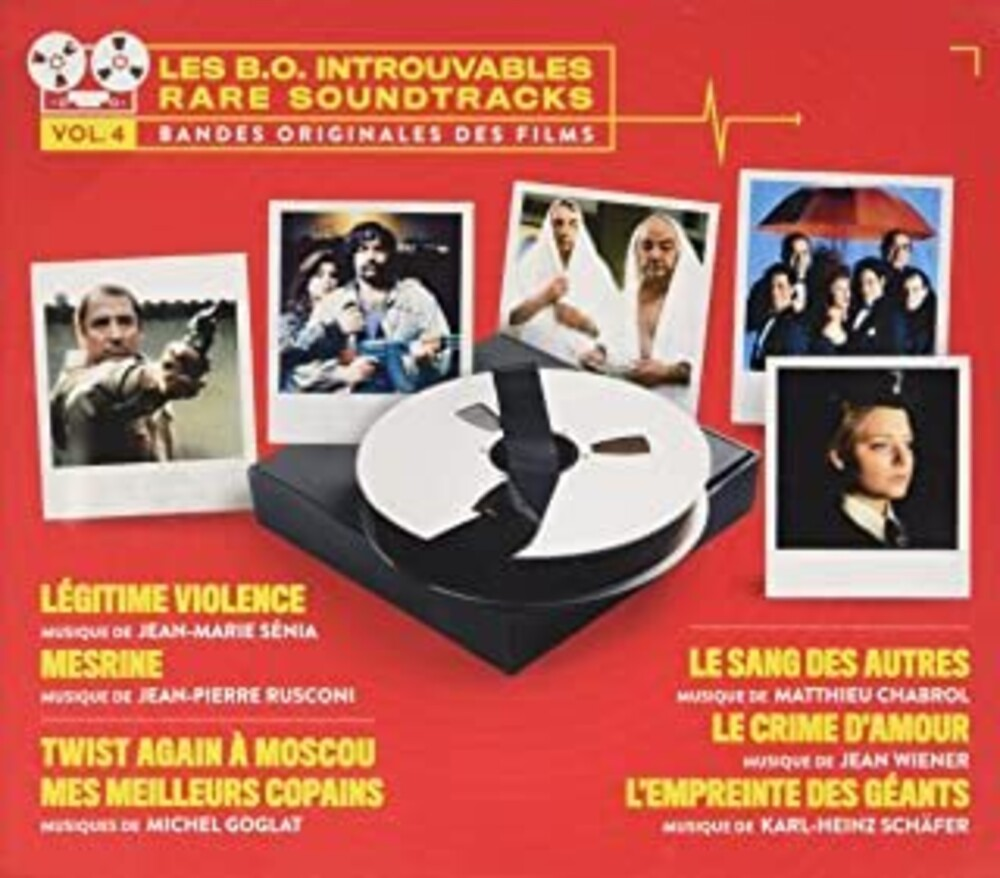 Les B.O. Introuvables (Rare Soundtracks): Volume 4 - Les B.O. Introuvables (Rare Soundtracks): Volume 4