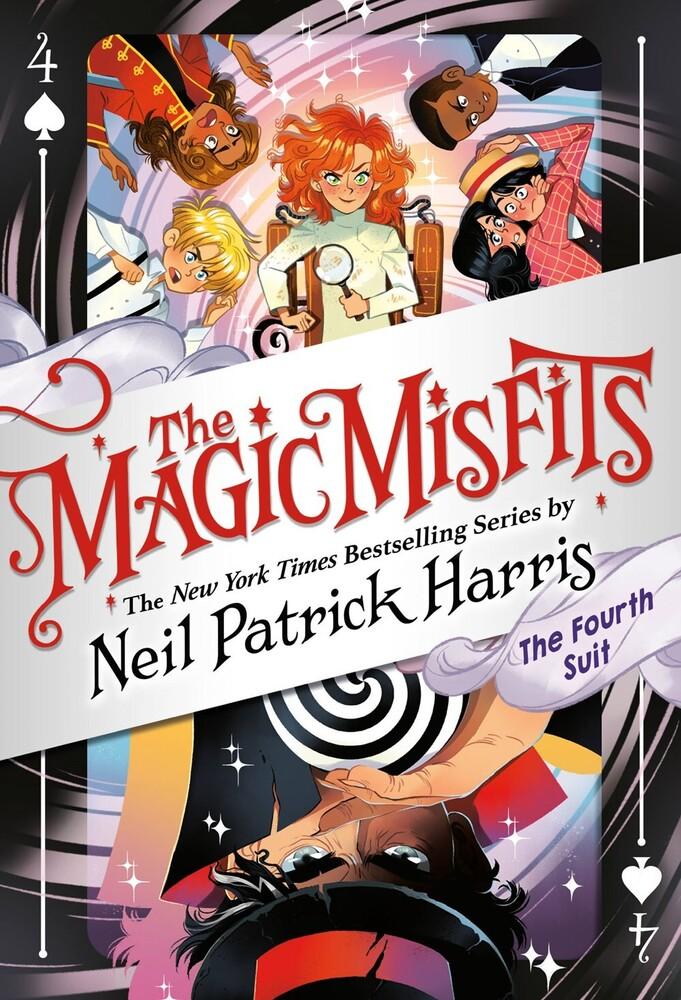 Neil Harris  Patrick - Magic Misfits (Ppbk)