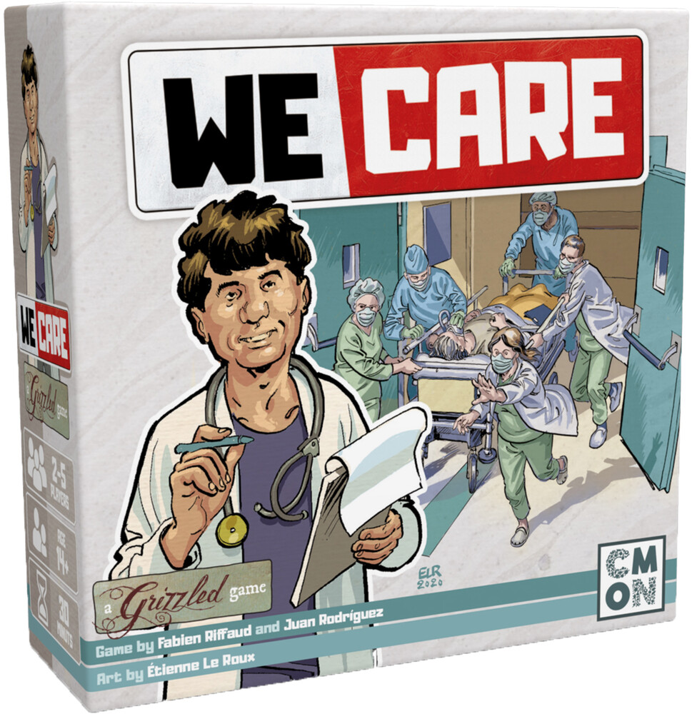 - We Care A Grizzled Game (Crdg) (Ttop) (Wbdg)