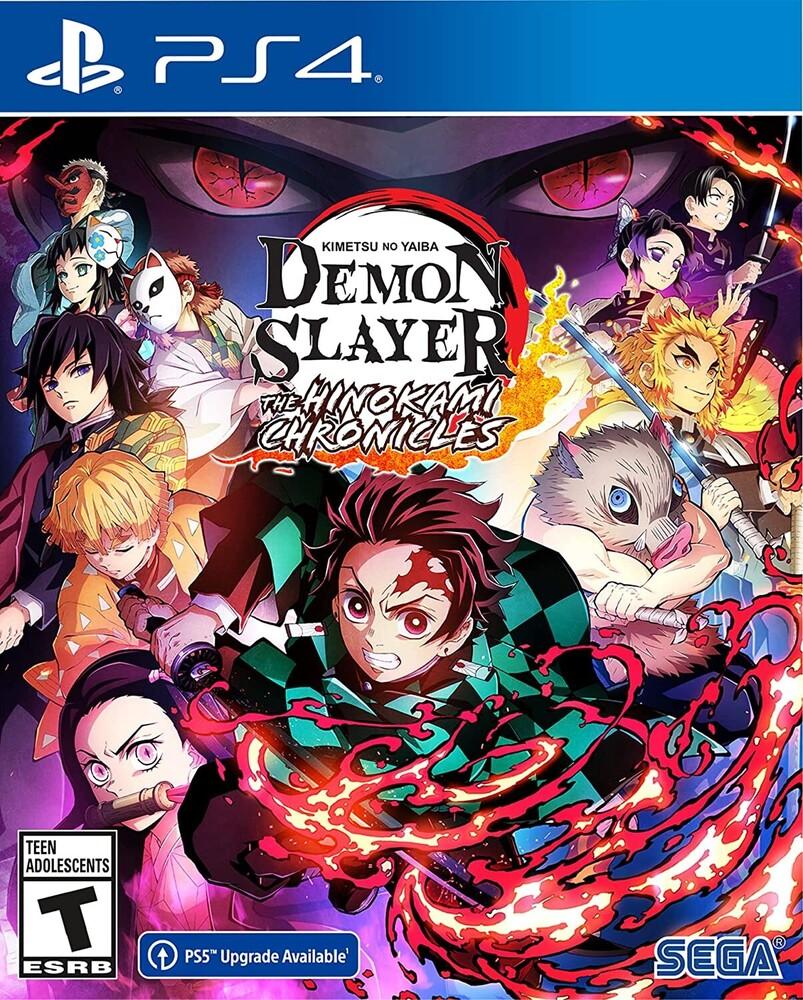 Ps4 Demon Slayer - Kimetsu No Yaiba - Hinokami - Demon Slayer - Kimetsu no Yaiba - The Hinokami Chronicles for PlayStation 4