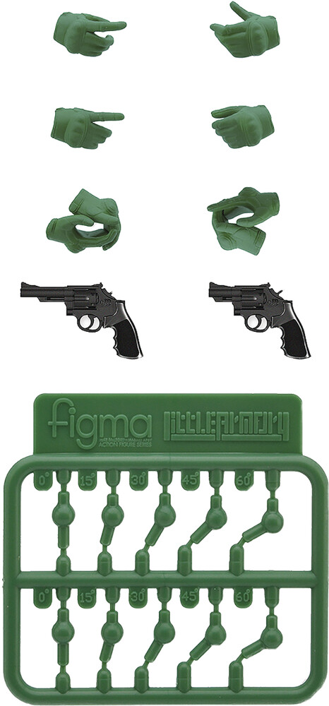 - Little Armory Laop07 Figma Tactical Gloves 2 Green