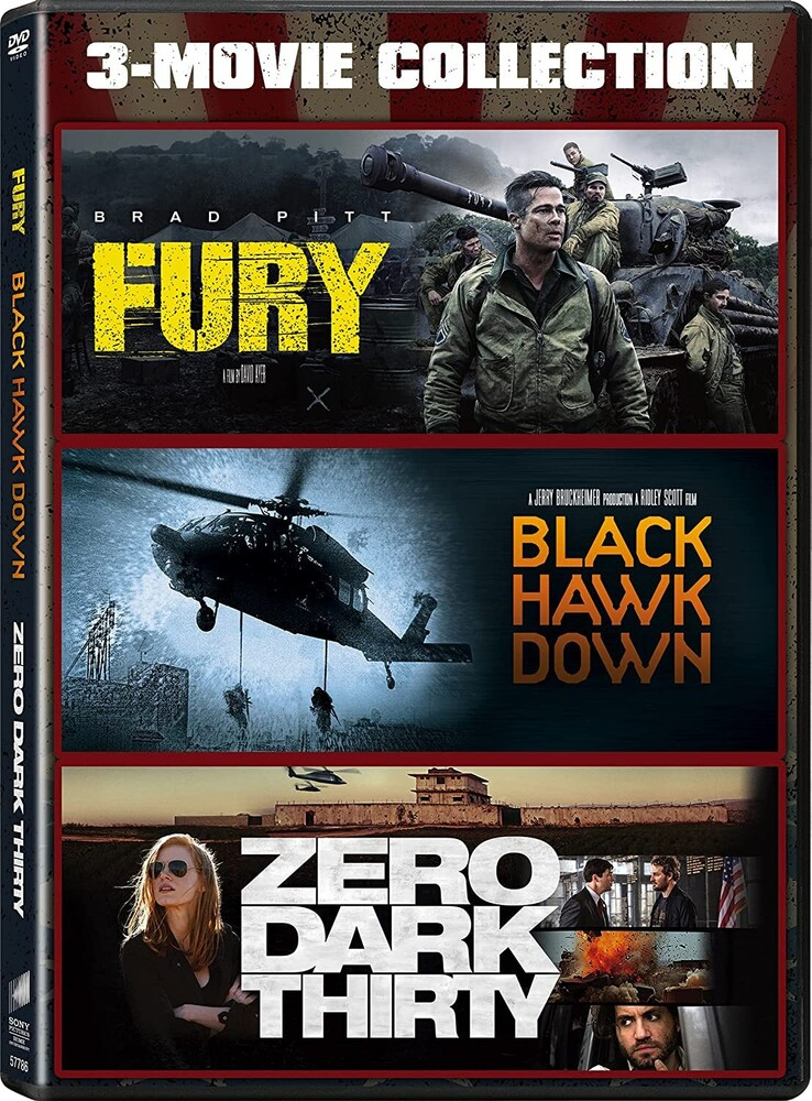 Black Hawk Down / Fury / Zero Dark Thirty - Black Hawk Down / Fury / Zero Dark Thirty (3pc)