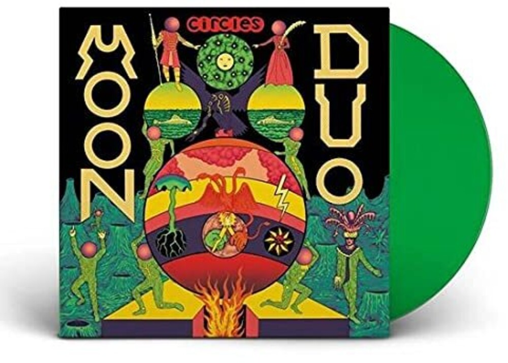 Moon Duo - Circles [Colored Vinyl] (Grn) (Uk)