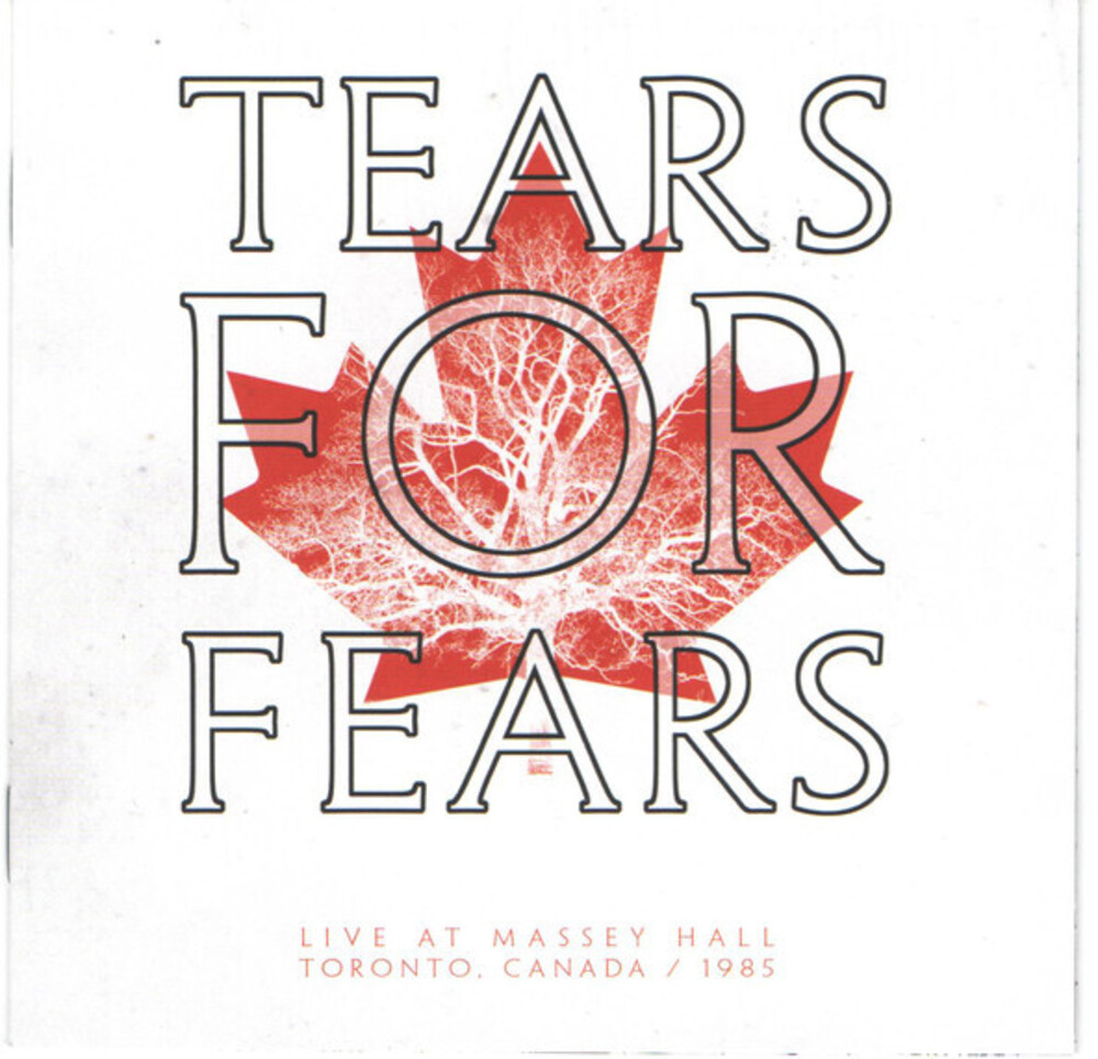 Tears For Fears - Live At Massey Hall [Limited Edition] (Can)