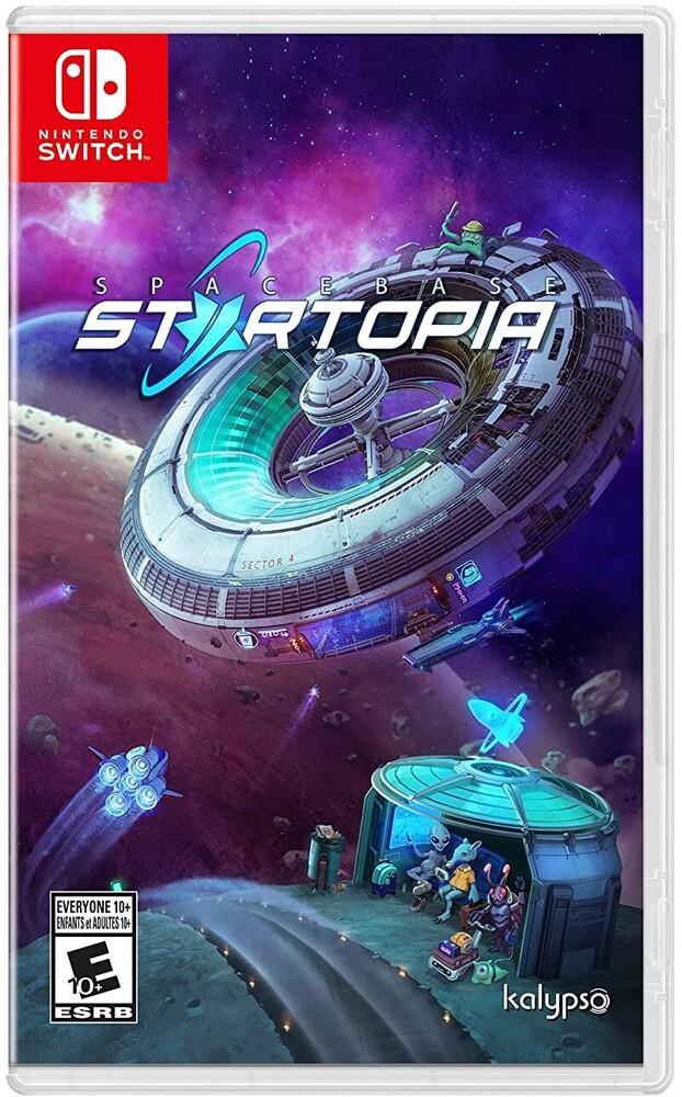 Swi Spacebase Startopia - Spacebase Startopia for Nintendo Switch