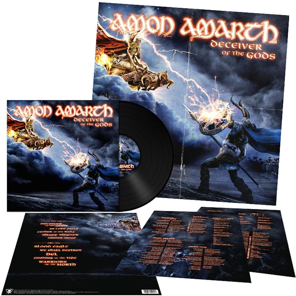 Amon Amarth - Deceiver Of The Gods [LP]