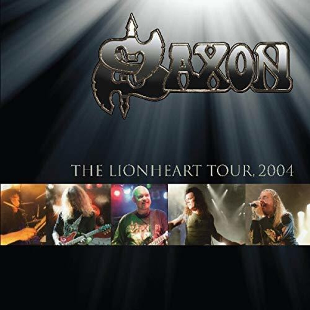 Saxon - The Lionheart Tour: 2004 [Import Colored Vinyl]