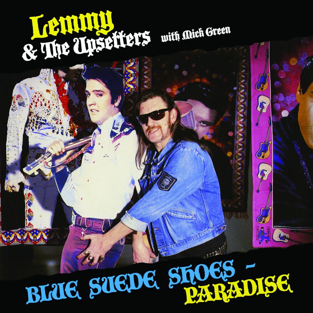 Lemmy & The Upsetters With Mick Green - Blue Suede Shoes / Paradise (Blue) [Colored Vinyl] [Limited Edition]