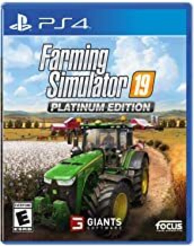 - Farming Simulator 19 Platinum Edition for PlayStation 4
