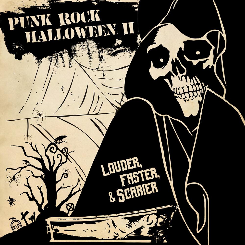 Punk Rock Halloween - Punk Rock Halloween II - Louder Faster & Scarier [LP]