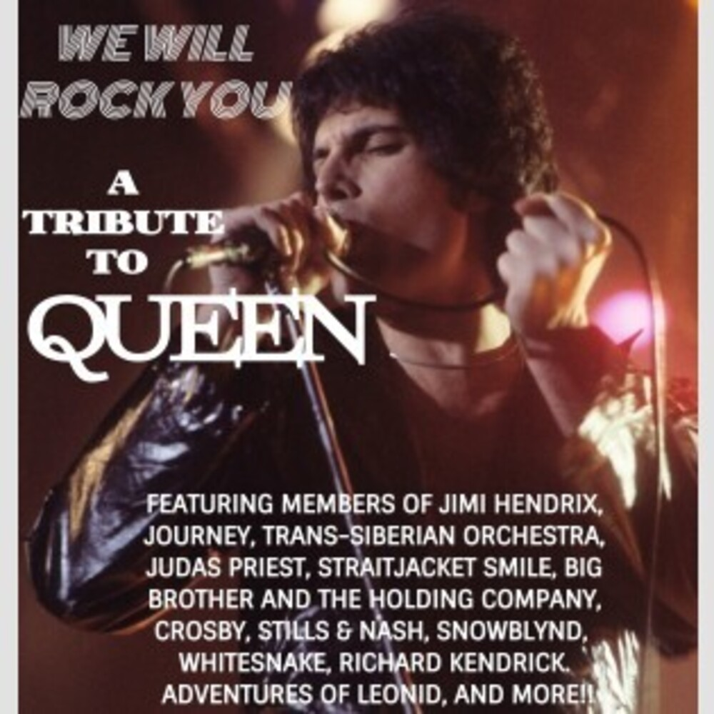 We Will Rock You Tribute To Queen / Various - We Will Rock You: A Tribute To Queen