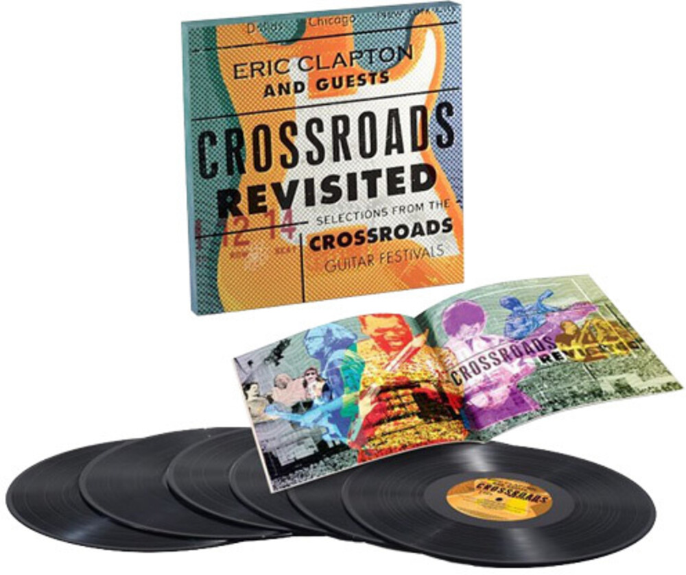 Eric Clapton & Guests - Crossroads Revisited: Selections From The Guitar Festivals [6LP]