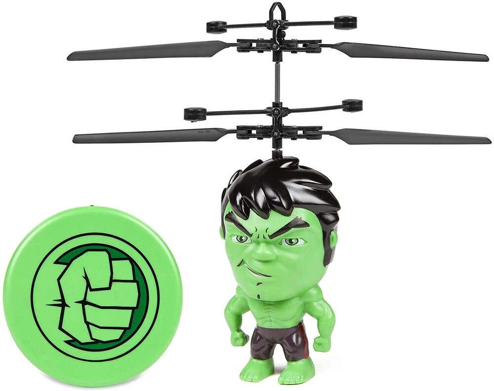 - Marvel 3.5 Inch: Hulk Flying Figure IR Helicopter (Marvel, Avengers, Hulk)