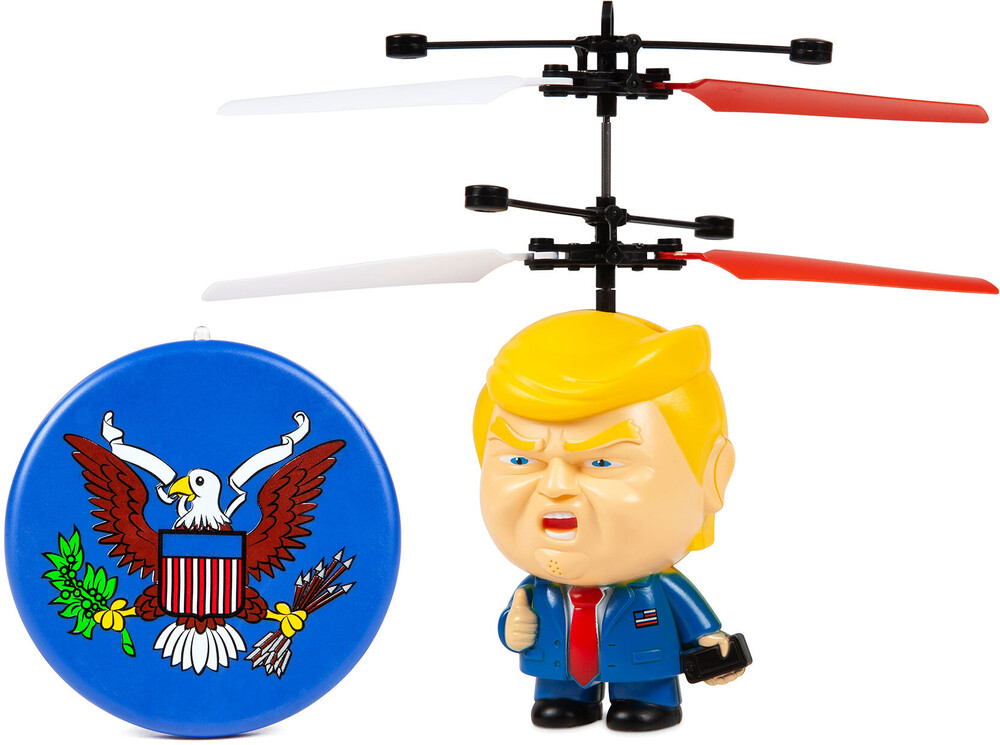 Ufo Ball Helicopter - Donald Trump Motion Sensing IR UFO Ball Helicopter (Donald Trump)