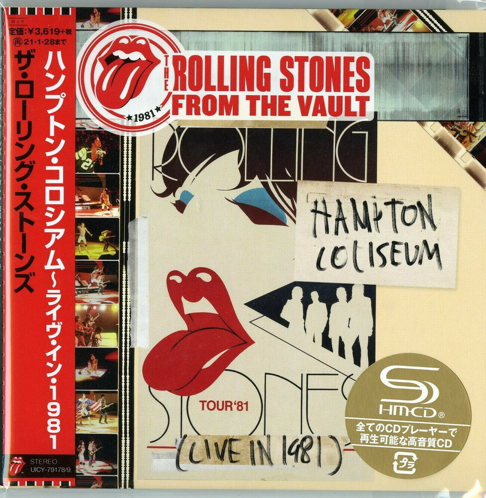 The Rolling Stones - From The Vault: Hampton Coliseum Live In 1981