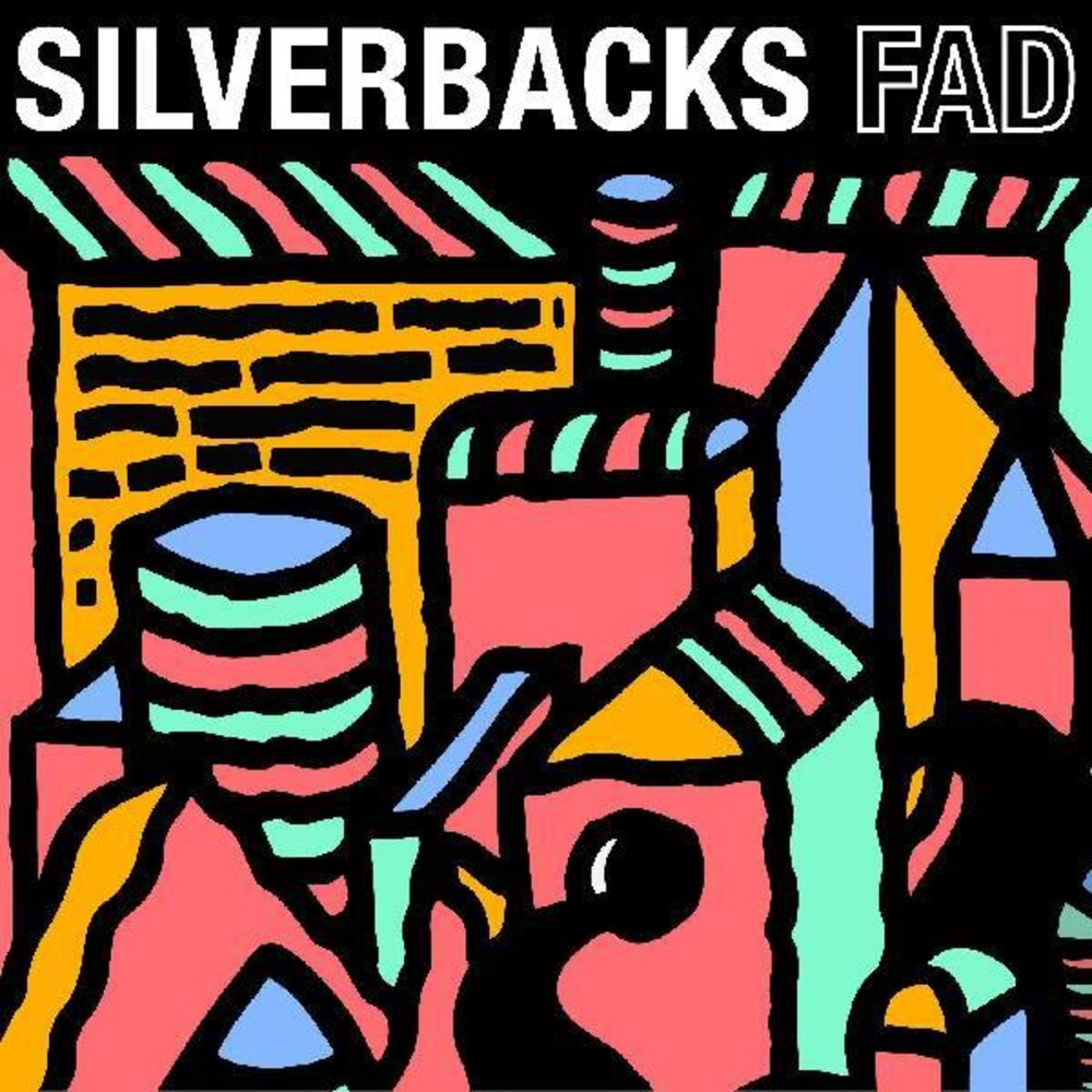 Silverbacks - Fad (Blue) [Colored Vinyl] [Indie Exclusive]