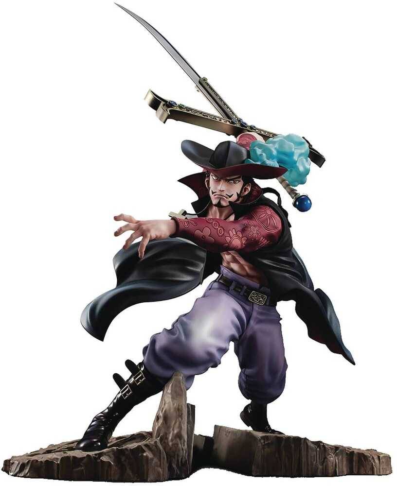 Megahouse - Megahouse - One Piece Portrait Of Pirates Neo-Max Dracule Mihawk PVC Figure