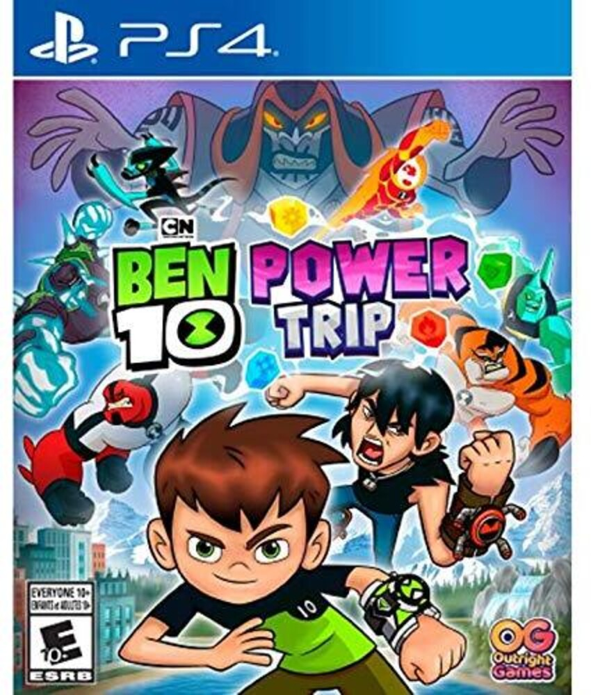 - Ps4 Ben 10 Power Trip