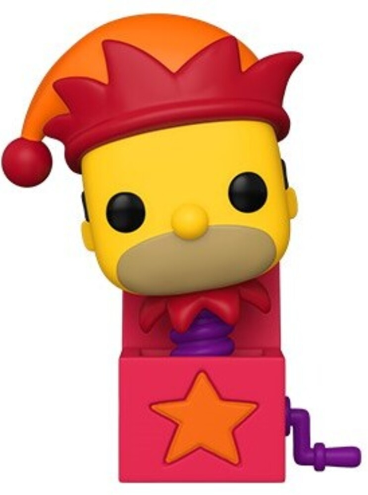 - FUNKO POP! ANIMATION: Simpsons - Homer Jack-In-The-Box