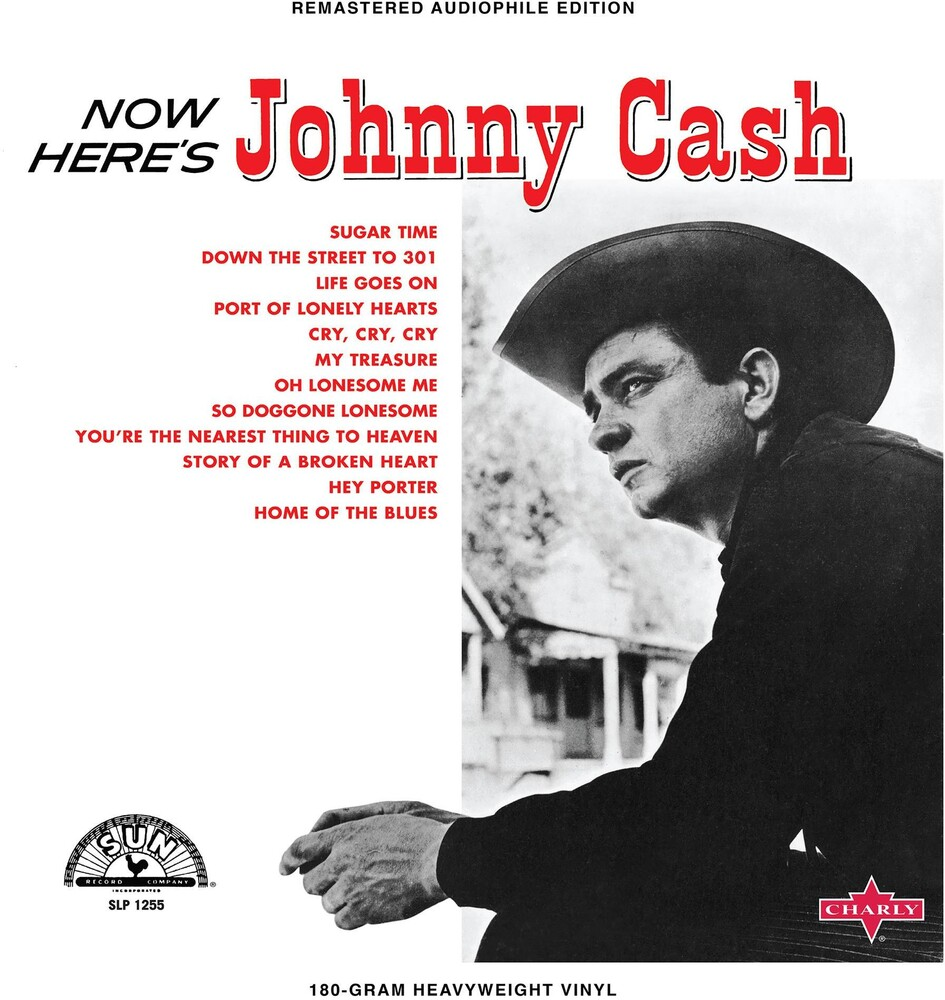Johnny Cash - Now Here's Johnny Cash [Limited Edition Red LP]