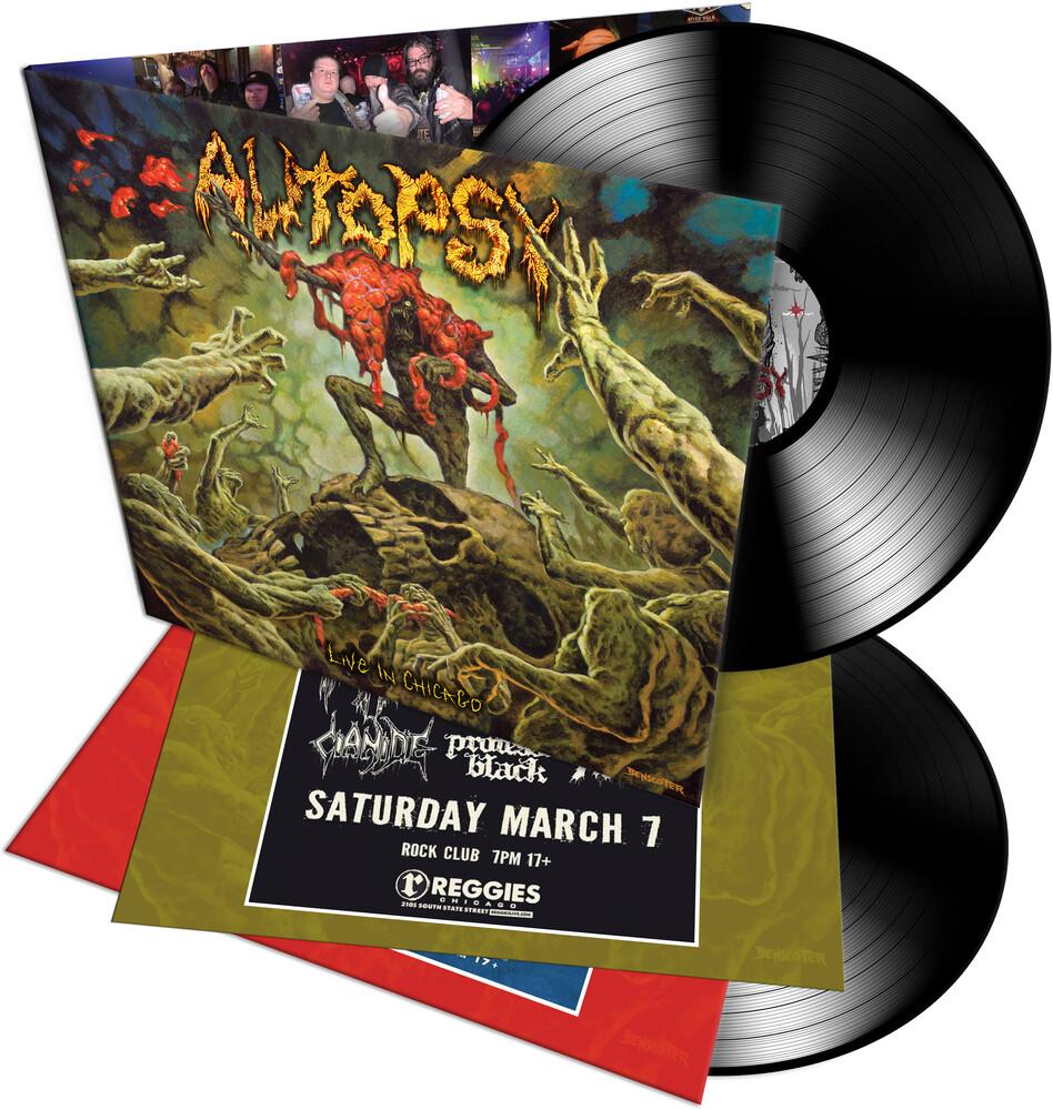 Autopsy - Live In Chicago (Gatefold 140gm Vinyl)