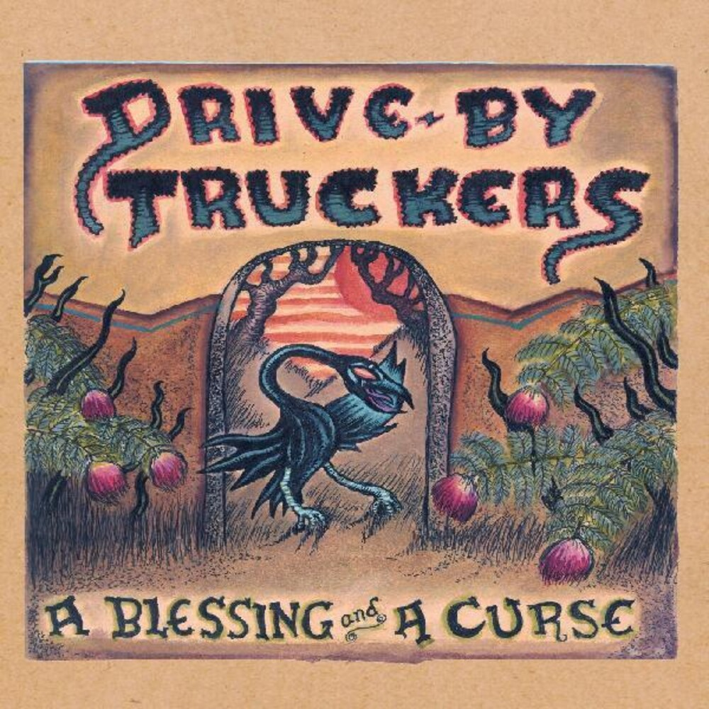 Drive-By Truckers - A Blessing And A Curse [Clear & Purple Marble LP]