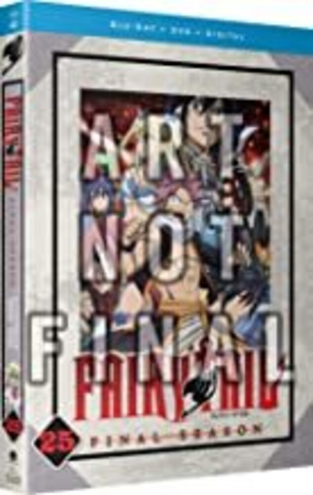 Fairy Tail Final Season - Part 25 - Fairy Tail Final Season - Part 25 (4pc) (W/Dvd)