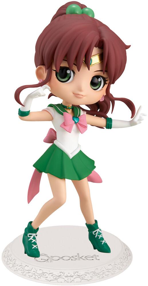 Banpresto - BanPresto - Movie Sailor Moon Eternal Sailor Jupiter Q posket Figure Version 1