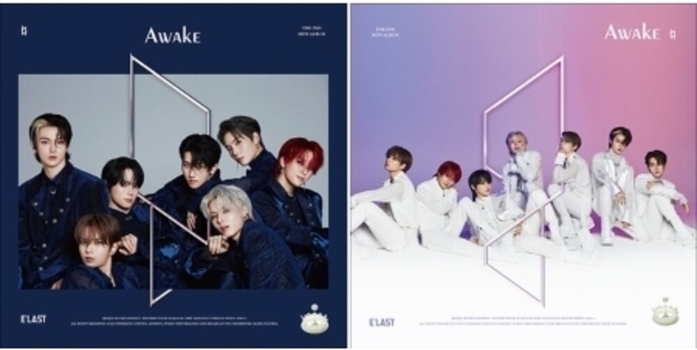 Elast - Awake (incl. 96pg Photobook, Lyrics Bookmark, 4-Cut Photo, Pet Photocard, 2pc Photocard + 2pc Sticker)