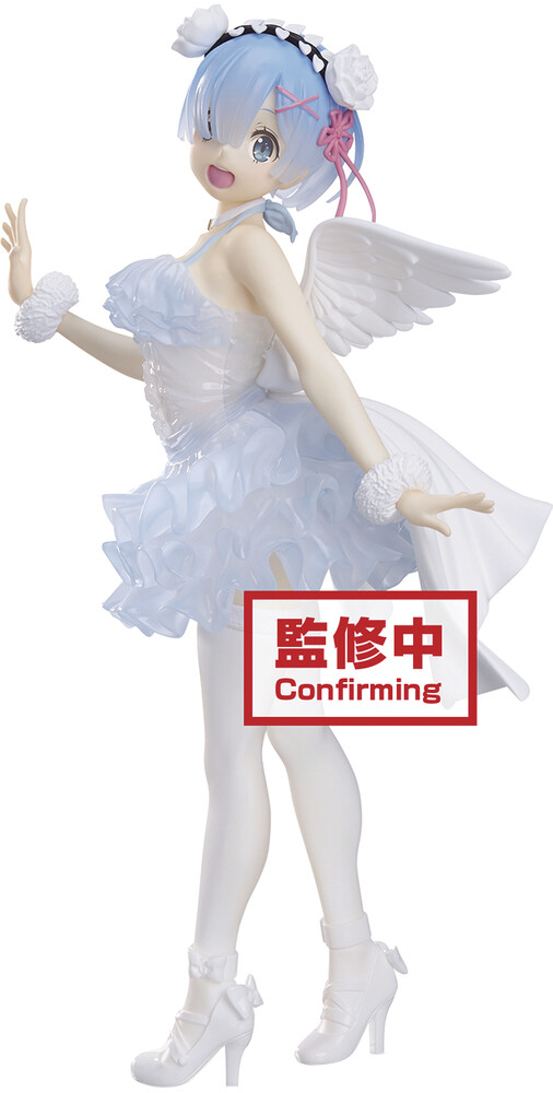 - BanPresto - Re:Zero Starting Life in Another World Clear & Dressy RemFigure