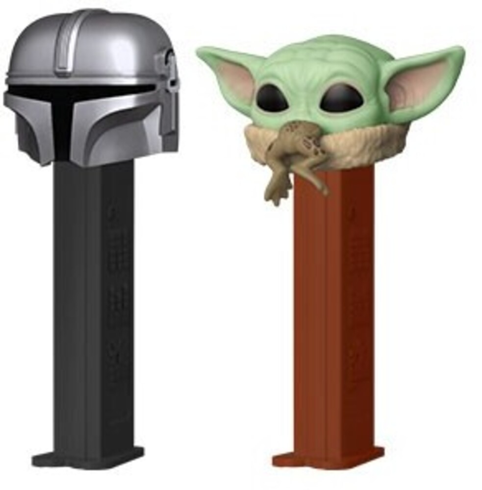 Funko Pop! Pez: - FUNKO POP! PEZ: Star Wars - The Mandalorian & The Child 2PK