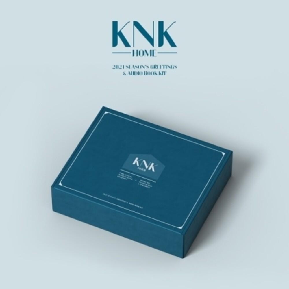 KNK - KNK 2021 Season's Greetings & Audio Book Kit (incl. Desk Calendar,Message Photocard, Postcard, Paper Door Hangers + Metal Badge)