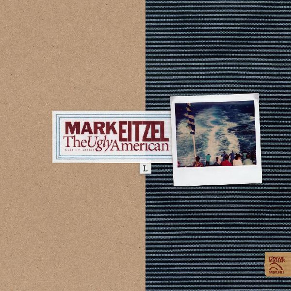 Mark Eitzel - Ugly American (Blue) [Colored Vinyl] [180 Gram]