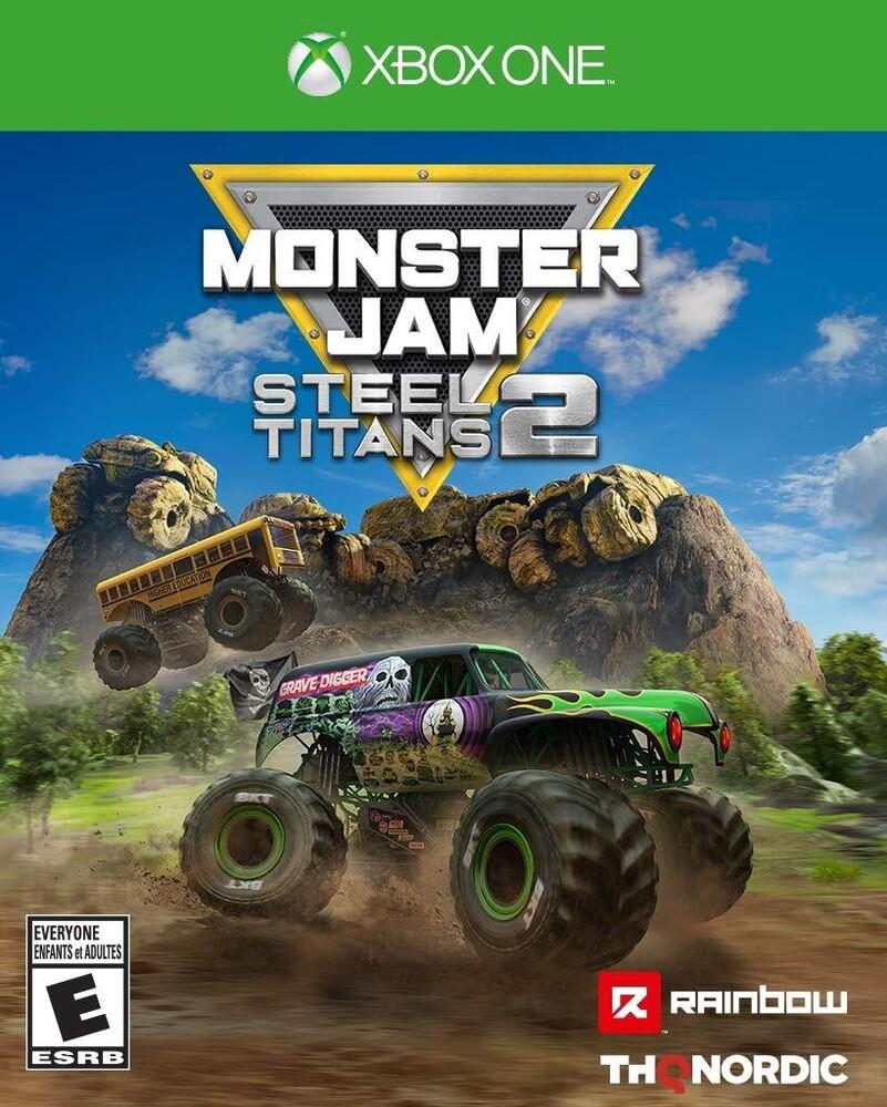 Xb1 Monster Jam Steels Titans 2 - Monster Jam Steel Titans 2 for Xbox One