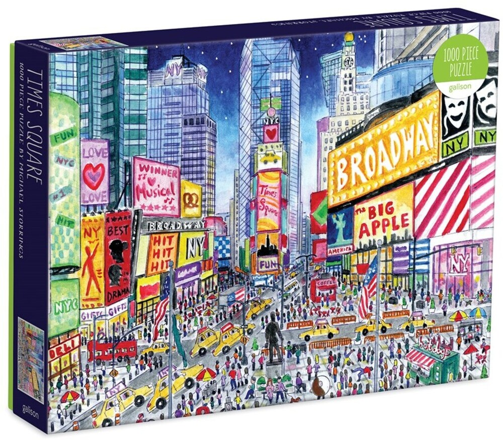 - Michael Storrings Times Square 1000 Piece Puzzle