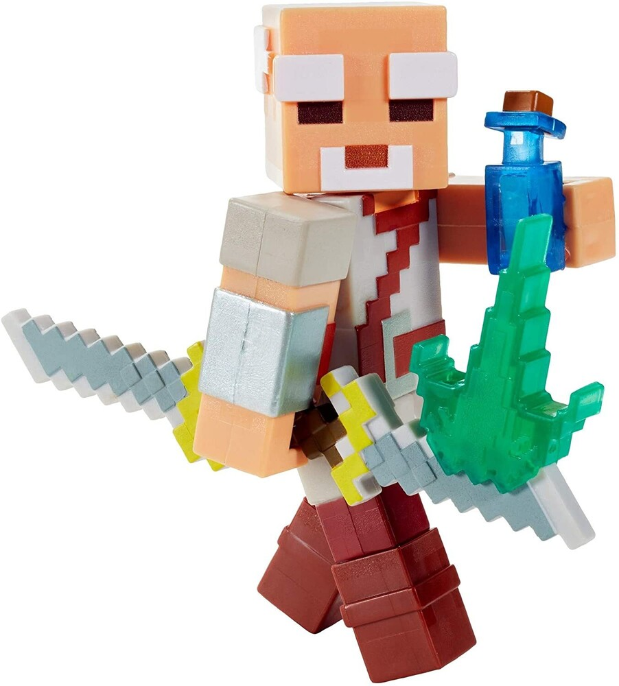 - Mattel Collectible - Minecraft Dungeons 3.25 Pake