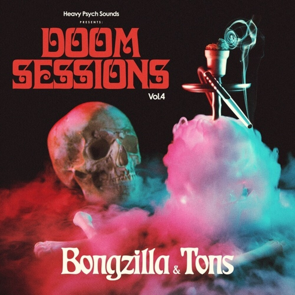Bongzilla / Tons - Doom Sessions 4 (Blk) [Colored Vinyl] (Ylw)