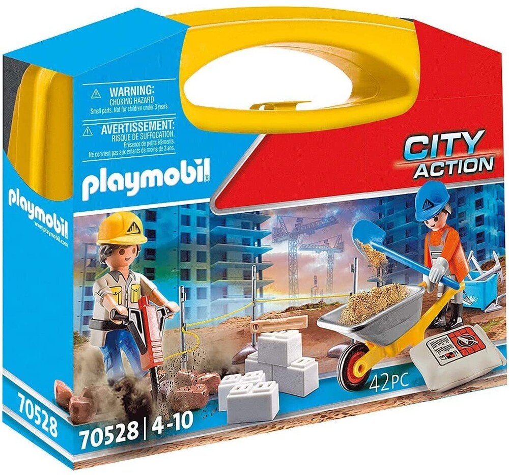 - City Action Construction Site Carry Case (Fig)