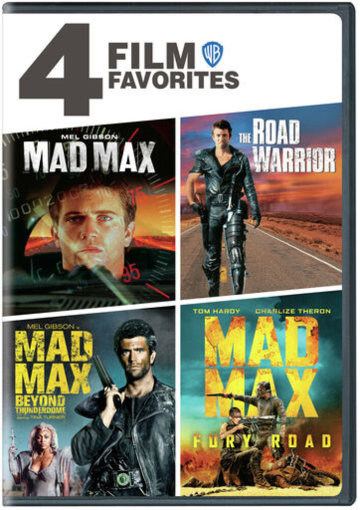 - Mad Max 4-Film Collection