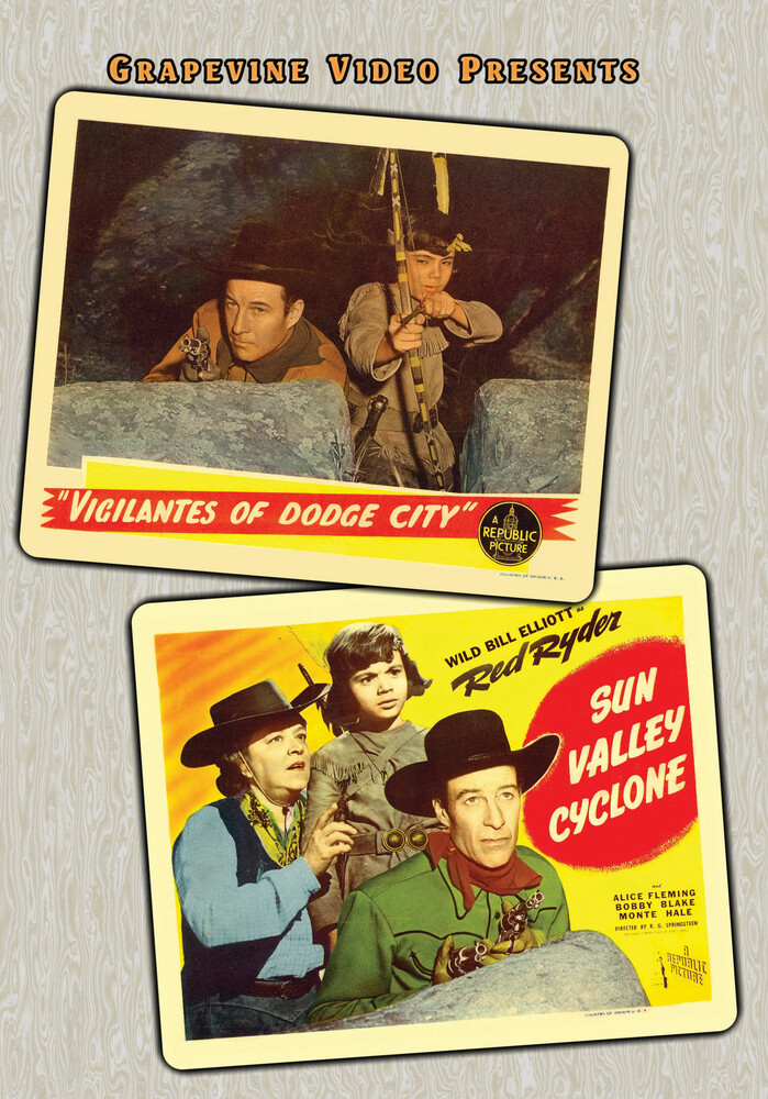 - Red Ryder Double Feature: Vigilantes Of Dodge