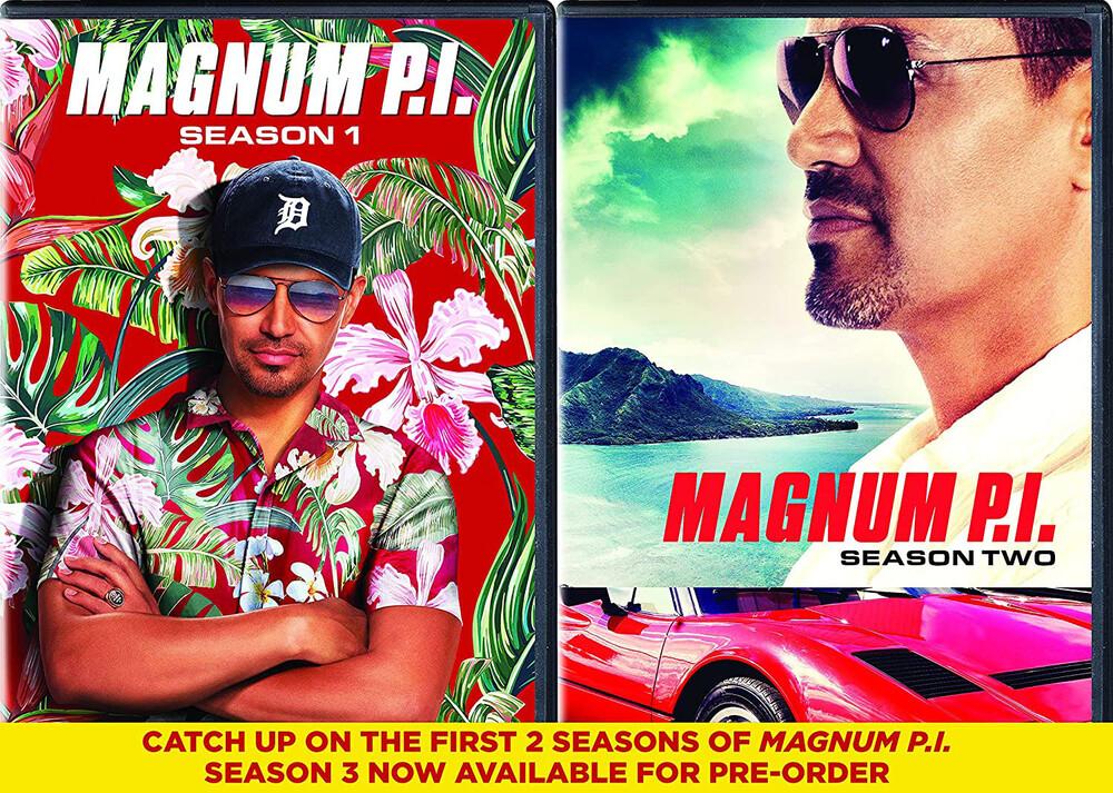 Magnum Pi: Seasons 1 & 2 - Magnum Pi: Seasons 1 & 2 (10pc) / (Box Shrk Ac3)